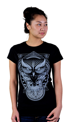 Alchemy owl t shirt design by humans t shirt review for Alchemy design t shirts