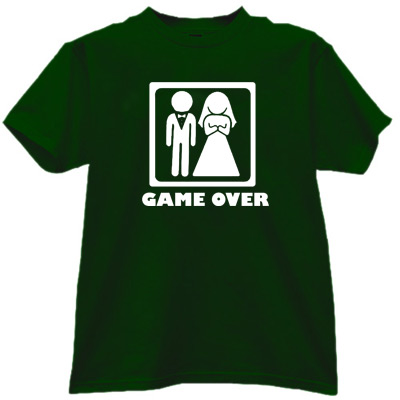 Game Over Credit card Funny stag do weekend Mens T-Shirt ...