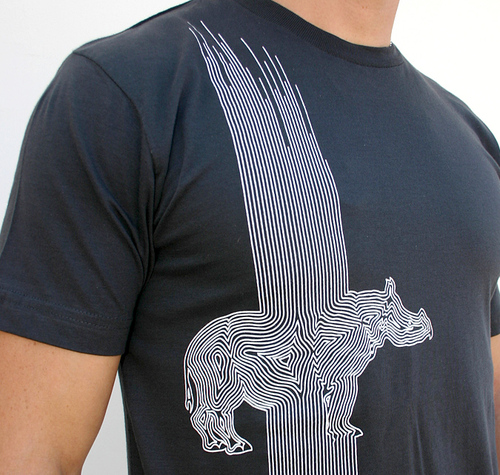 line rhino t shirt design by humans t shirt review. Black Bedroom Furniture Sets. Home Design Ideas