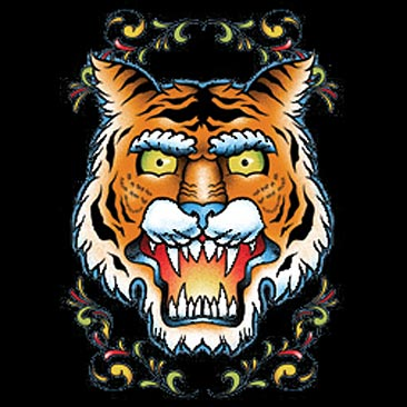The Tiger Vintage Tattoo TShirt is a new shirt design at ChoiceShirtscom
